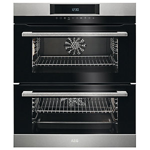 AEG Built-Under Double Oven DUK731110M