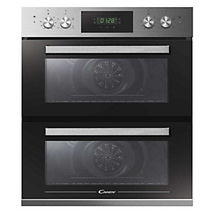 Candy Integrated Built Under Double Oven Stainless Steel - FCT7D415X