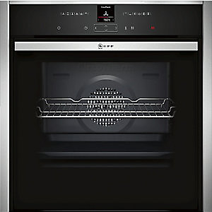 NEFF Built-in Single Pyro Oven Stainless Steel with Slide and Hide B57CR22N0B