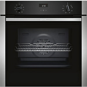 NEFF Integrated Single Multi Function Oven Stainless Steel - B1ACE4HN0B