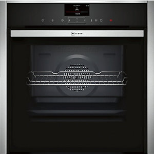 NEFF Single Pyrolytic Oven Stainless Steel - B57VS24N0B