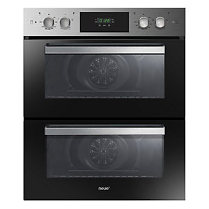 neue Built Under Double Oven With Touch & Rotary Control Stainless Steel FN7D415X