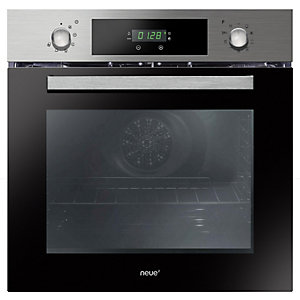 neue Integrated Single Multi Function Oven Stainless Steel - FNPC65X