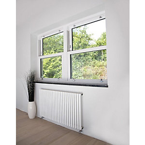 Oxfordshire Horizontal Gun Metal Radiator 600mm x 590mm