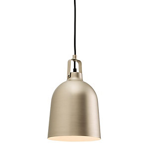 Endon Campana Pendant Light Matt Nickel