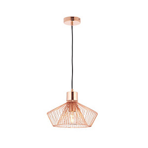 Endon Gabbia Pendant Light Copper