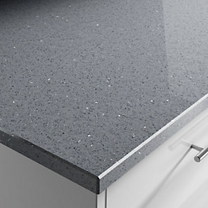 Apollo Quartz Mezzanine Grey 20mm