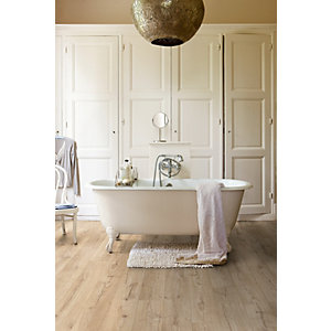 Quick Step Impressive Classic Oak Beige Laminate Flooring 1380 x 190 x 8mm Pack Size 1.835m2