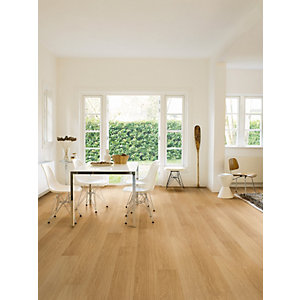Quick Step Impressive Natural Varnished Oak Laminate Flooring 1380 x 190 x 8mm Pack Size 1.835m2