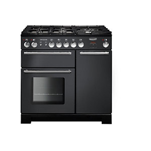 Rangemaster Infusion Dual Fuel Slate 90cm