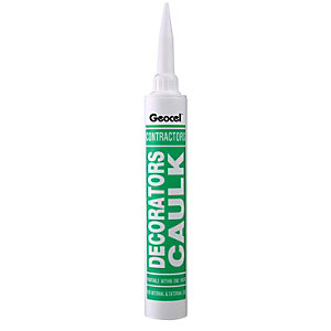 Geocel Decorators Caulk White 380ml