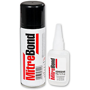 Worktop Mitrebond 50g Adhesive with 200ml Aerosol