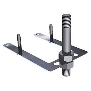 Abode Tap Stabilising Bracket Stainless Steel AX1011