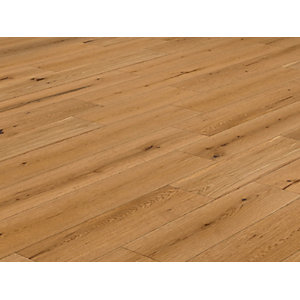 Solid Oak Flooring Lacquered 18 x 125mm 2.2m2 Per Pack
