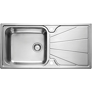 Astracast Korona 1 Bowl Stainless Steel Inset Sink