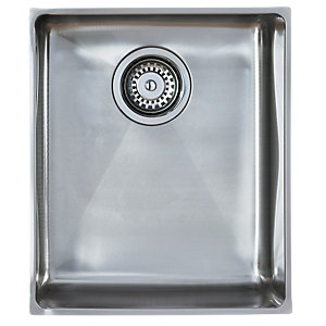 Astracast Onyx 1 Bowl 4034 Stainless Steel Undermount Sink