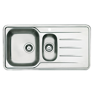 Astracast Topaz 1.5 Bowl Stainless Steel Inset Sink