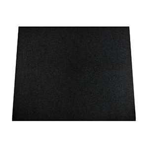 Rangemaster Toledo 90 Splashback Metallic Black Glass