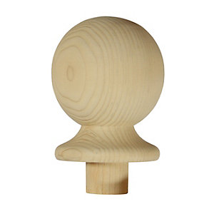 Richard Burbidge Trademark Pine Newel Ball Cap 90mm NC2/90P