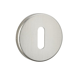 Urfic Standard Lock Escutcheon Brushed Aluminium