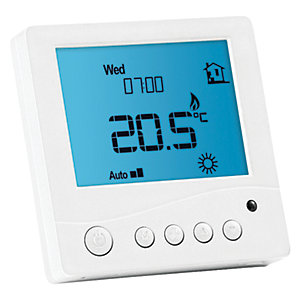 ProWarm Digital Thermostat Standard White