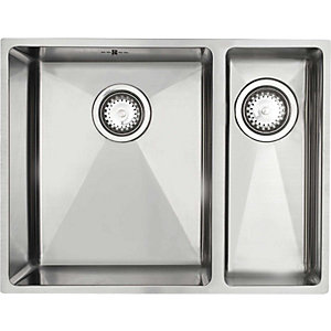 Astracast Onyx 1.5 Bowl Stainless Steel Undermount Sink