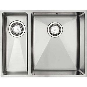 Astracast Onyx Undermount 1.5 Bowl Stainless Steel Sink Left Handed O x 15 x Btravpkl
