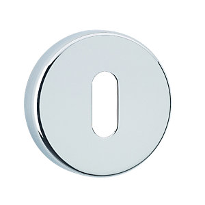 Urfic Round Lock Escutcheon Chrome