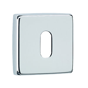 Urfic Square Lock Escutcheon Chrome