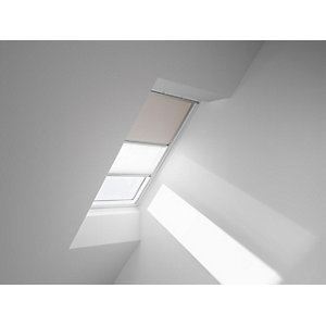 VELUX Duo Blackout Blinds Light Beige 942mm x 1600mm