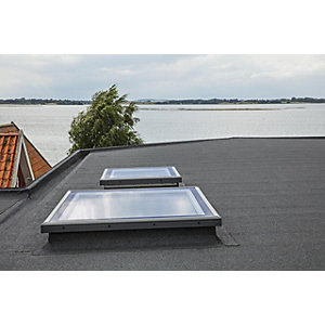 Velux Flat Roof Flat Glass Cover 900 x 1200mm