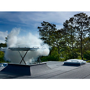 Velux Flat Roof Smoke Vent Window 1000 x 1000mm