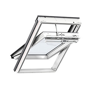 Velux Integra Solar Roof Window 550 x 780mm White Polyurethane