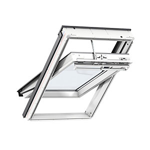 Velux Integra Solar Roof Window 780 x 1180mm White Polyurethane