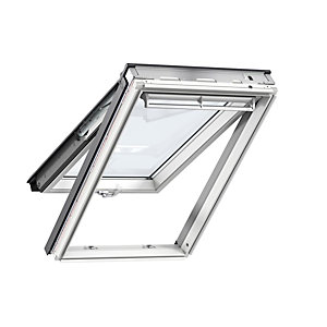 Velux Integra Solar Roof Window 780 x 1400mm White Paint Ggl MK08 206030