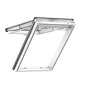 VELUX Top Hung Roof Window White Polyurethane 550mm x 980mm Gpu CK04 0062