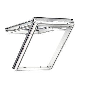 VELUX Top Hung Roof Window White Polyurethane 660mm x 1180mm Gpu FK06 0060