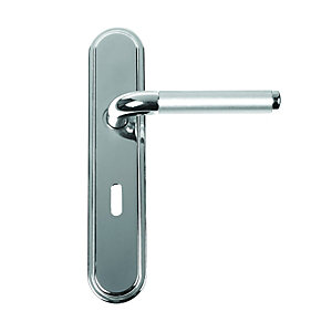 Vienna Lever Lock Polished Nickel