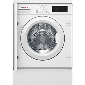 Bosch Serie 6 Built in Washing Machine with Varioperfect White WIW28300gB