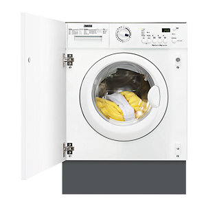 Zanussi Integrated Washer Dryer White ZWT71201WA