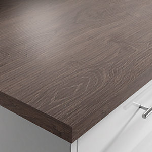 Laminate Kingwood Square Edged Breakfast Bar 3m x 900mm