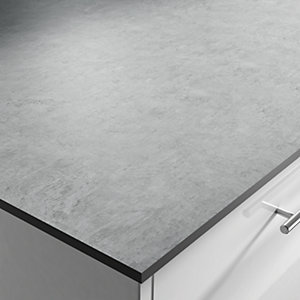 Zenith Woodstone Grey Compact Worktop 3020mm x 600mm x 12.5mm